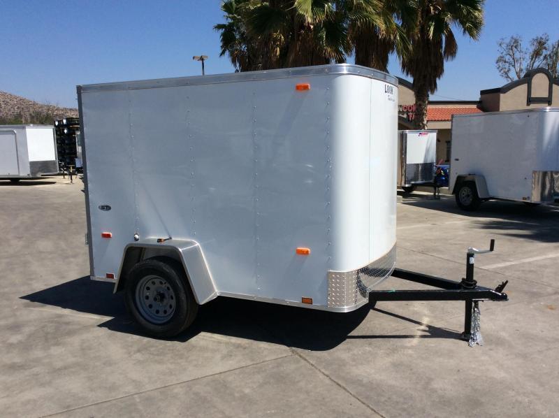 2018 Look Trailers STLC 5' x 8' Single Axle Enclosed Cargo Trailer