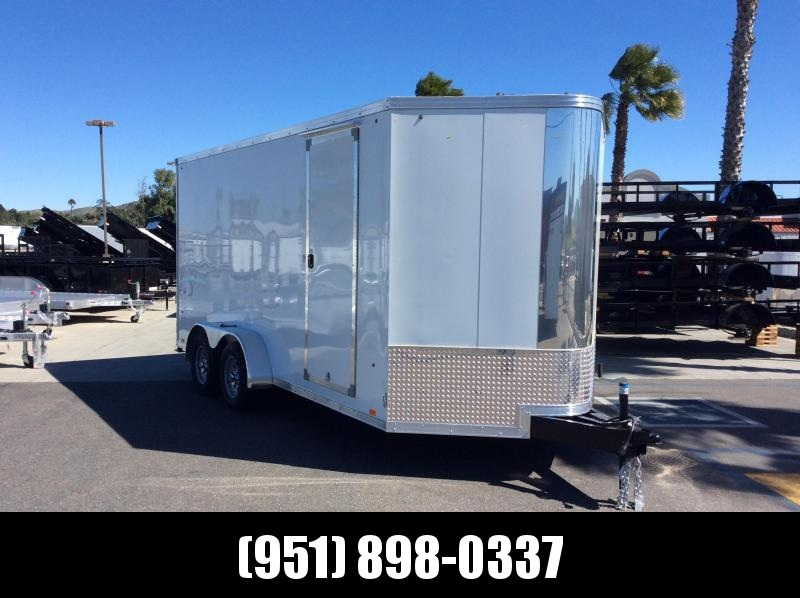 2019 Look Trailers Vision 7 X 16 Tandem axle Enclosed Cargo Trailer