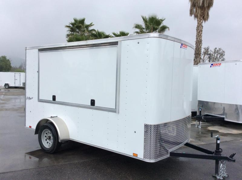 2018 Pace American Outback 6' x 12' Single Axle Enclosed Cargo Trailer