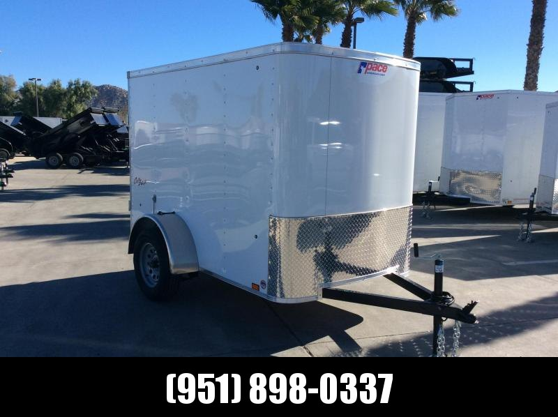 2019 Pace American Outabck 5' x 8' Single Axle Enclosed Cargo Trailer