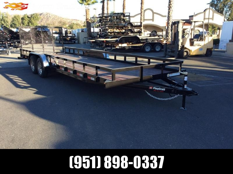 "2019 Sun Country 82"" x 24' Tandem Axle Utility Trailer"