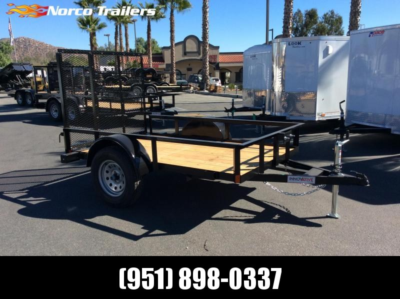 2019 Innovative Trailer Mfg. Economy Wood Standard Utility 5 x 8' Utility Trailer
