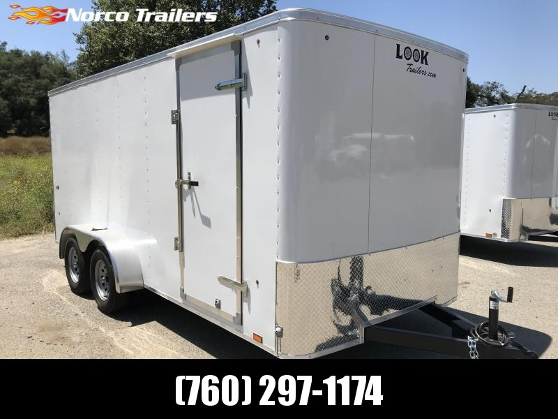 2019 Look Trailers STLC 7' x 16' Enclosed Cargo Trailer