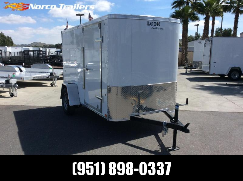 2019 Look Trailers ST 5 X 10 Single Axle Enclosed Cargo Trailer