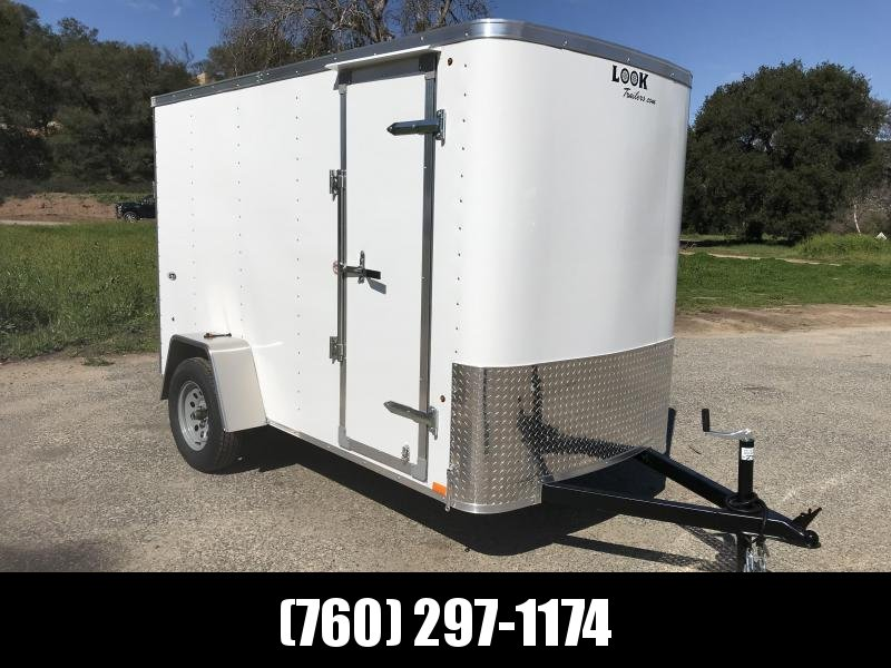 2019 Look Trailers STLC 5' x 10' Cargo / Enclosed Trailer
