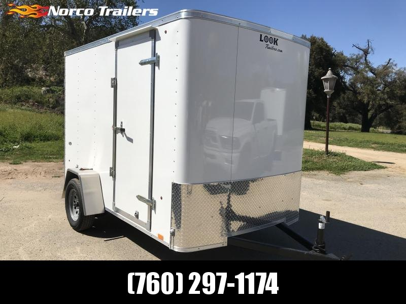 2019 Look Trailers STLC 6' x 10' Enclosed Cargo Trailer