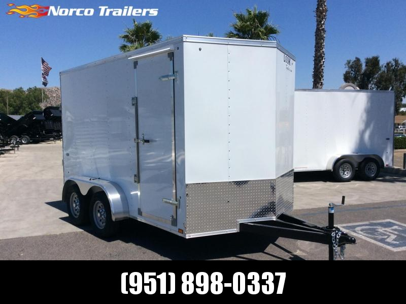 2019 Look Trailers STVLC 7 x 12 Tandem Axle Enclosed Cargo Trailer