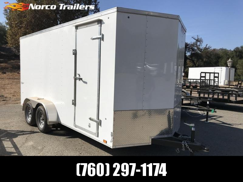 2019 Pace American Outback Vnose 7' x 16' Enclosed Cargo Trailer in Ashburn, VA