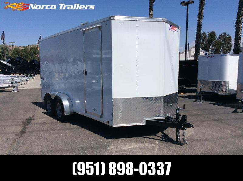 2019 Pace American Journey 7 x 16 Tandem Axle Enclosed Cargo Trailer
