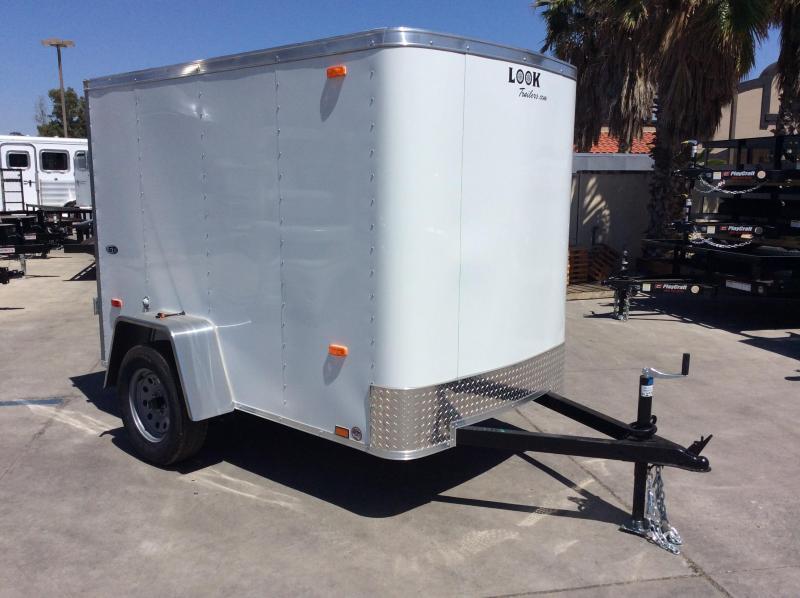 2018 Look Trailers STLC 5 x 8' Single Axle Enclosed Cargo Trailer