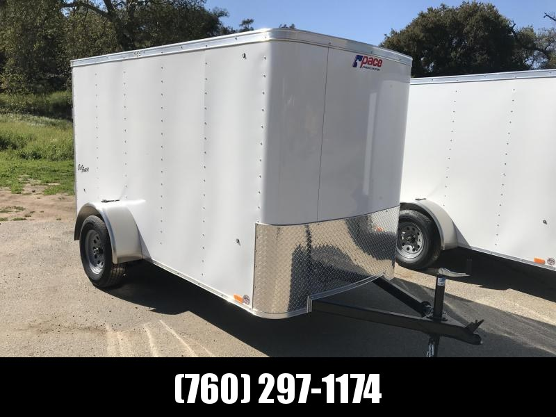 2018 Pace American Outback 5' x 10' Cargo / Enclosed Trailer