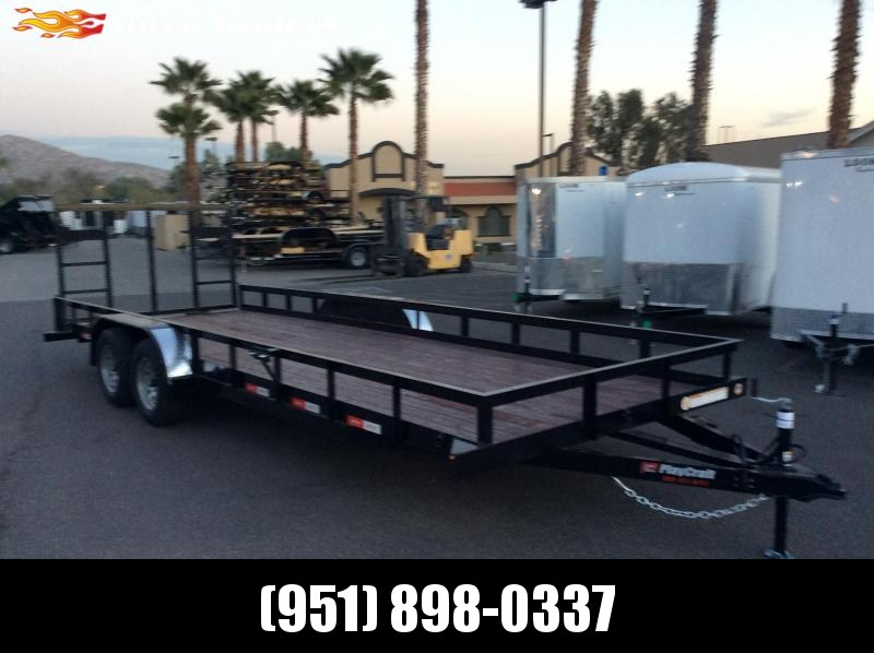 "2019 Sun Country 82"" x 22' Tandem Axle Utility Trailer"