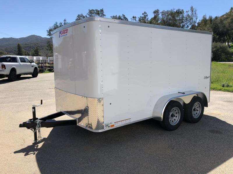 2018 Pace American Outback 7\' x 12\' Cargo / Enclosed Trailer | Norco ...