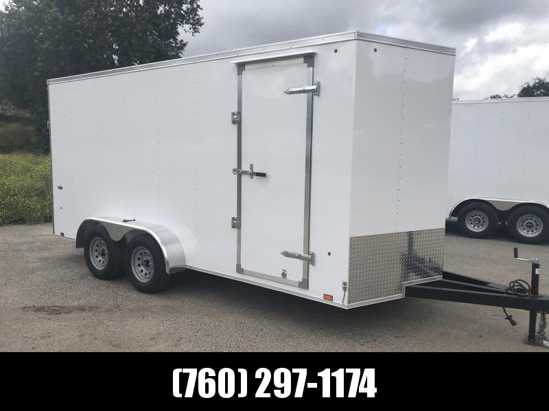2019 Look Trailers STLC 7x16 te2 r 7h Enclosed Cargo Trailer