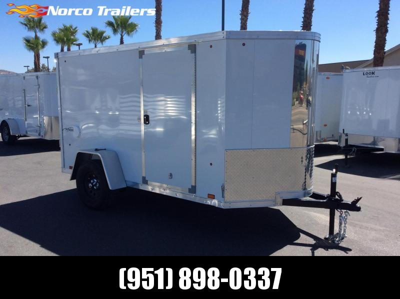 2019 Look Trailers Vnose Vision 5' x 10' Enclosed Cargo Trailer