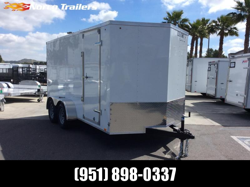 2019 Look Trailers STVLC 7 x 14 Tandem Axle Enclosed Cargo Trailer