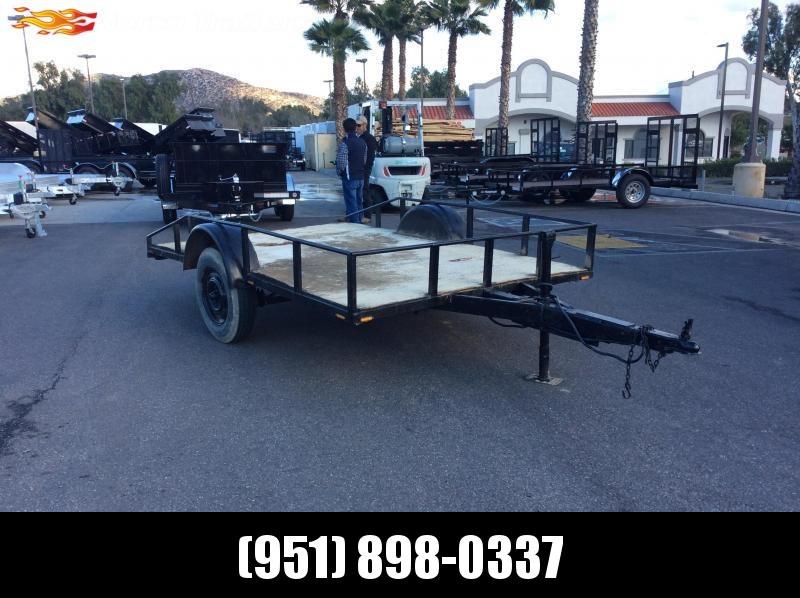 "2001 Other 77"" x 10' Single Axle Utility Trailer"