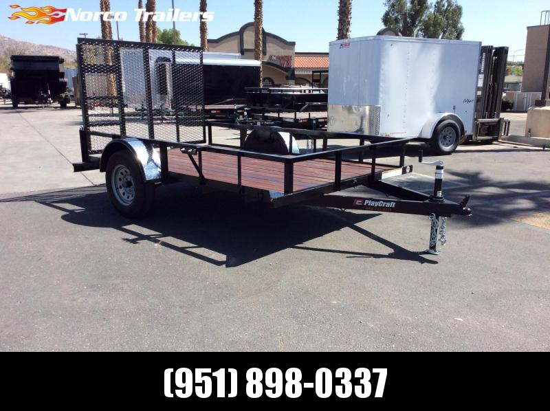 2019 Playcraft Single Axle 6' x 10' Utility Trailer