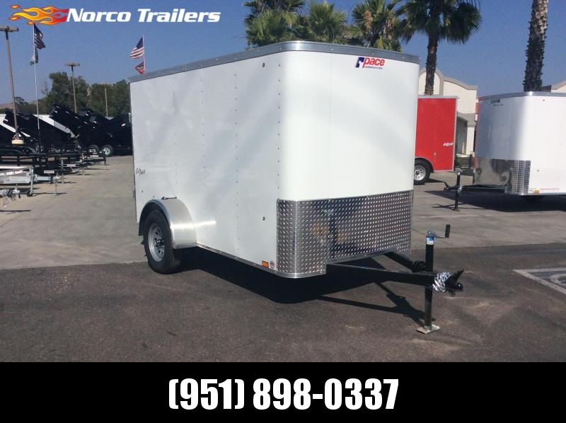 2019 Pace American Outback 5' x 10' Sinlge Axle Enclosed Cargo Trailer