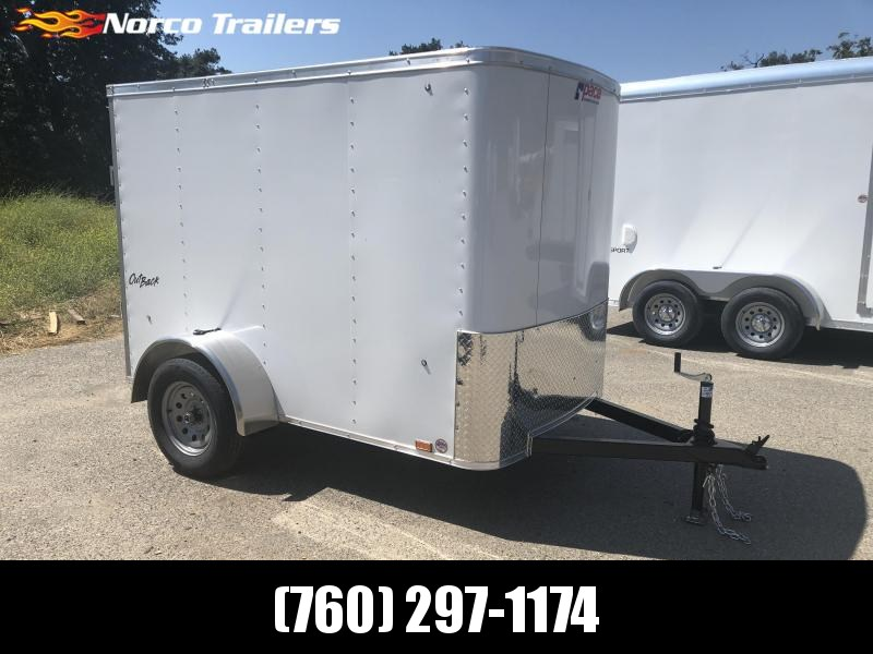 2020 Pace American Outback 5' x 8' Enclosed Cargo Trailer