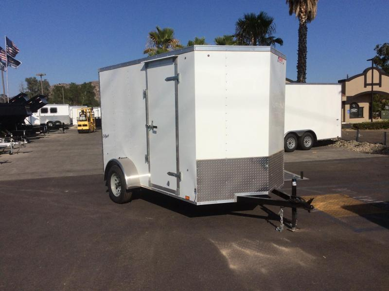 2018 Pace American Outback 6 x 10' SI2 Enclosed Cargo Trailer