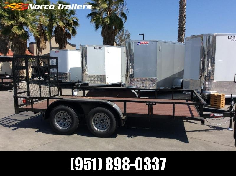 "2018 Sun Country Playcraft 77"" x 14' Light Duty Brakes Utility Trailer"