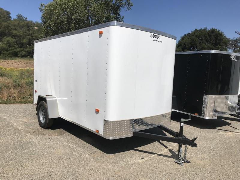 2018 Look Trailers STLC 6' x 12' Cargo / Enclosed Trailer