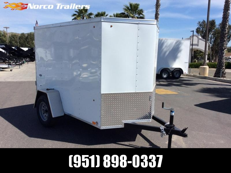 2019 Look Trailers STVLC 5' x 8' Single Axle Enclosed Cargo Trailer
