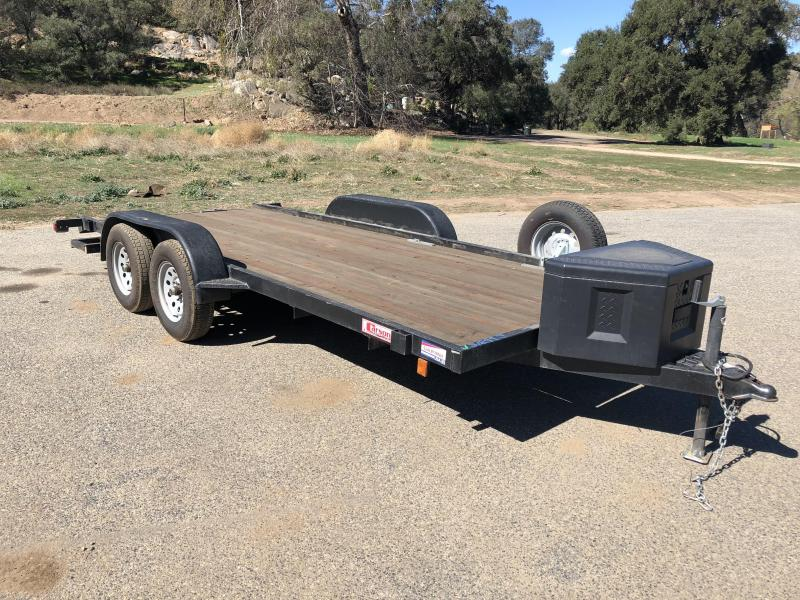 "2014 Carson Trailers 72"" x 16' Light Duty ATV Flatbed Trailer"