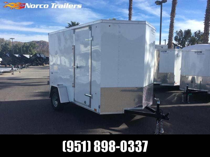 2019 Look Trailers STVLC 6' x 10' Single Axle Enclosed Cargo Trailer