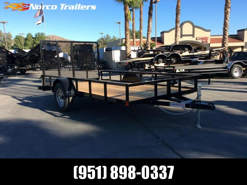 2019 Innovative Trailer Mfg. Economy Wood Standard Utility 77 x 12' Utility Trailer