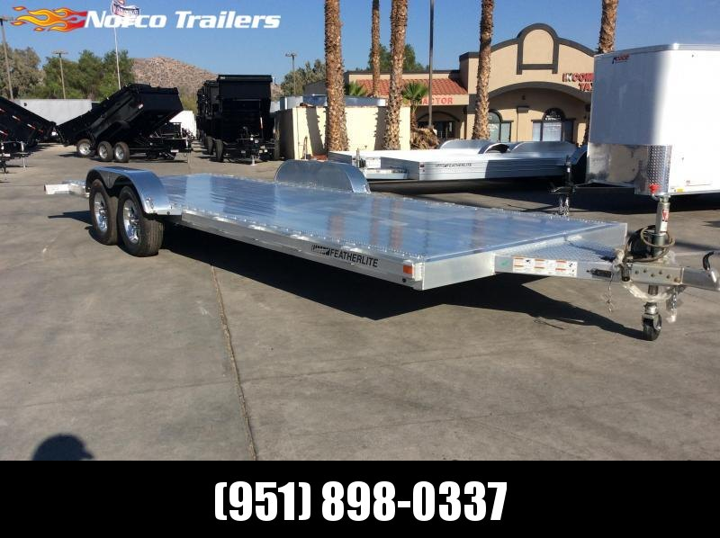 2018 Featherlite 3182 8.5' x 22' Flatbed Car / Racing Trailer