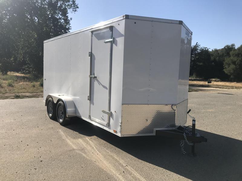 2019 Look Trailers STLC Vnose 7' x 16' Enclosed Cargo Trailer