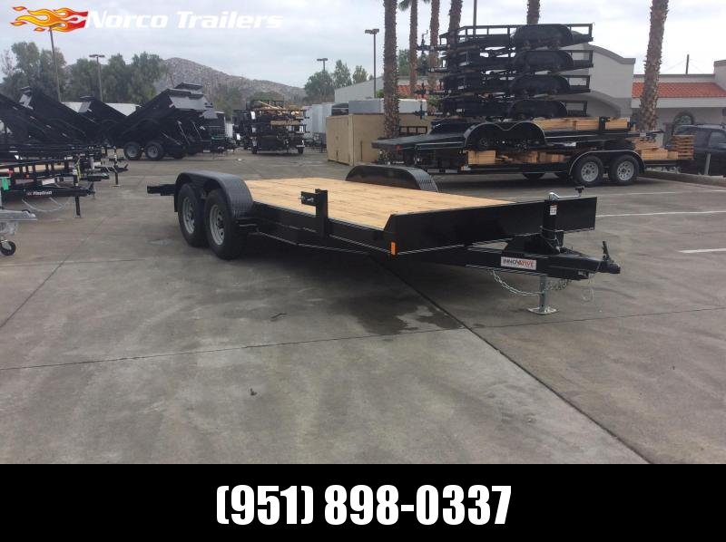 "2019 Innovative Trailer Mfg. Medium Duty Equiptment Hauler 82"" x 18' Tandem Axle Flatbed Trailer"