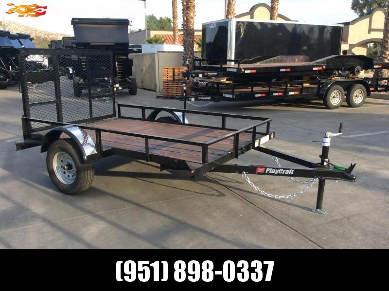 2019 Playcraft 5 x 8 Big Mini Utility Trailer