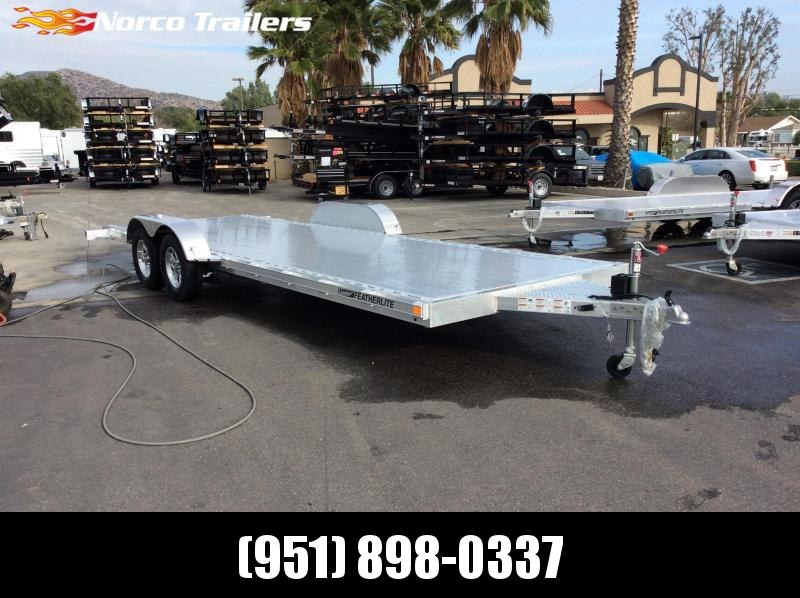 2018 Featherlite 8.5' x 22' 3182 Flatbed Car / Racing Trailer