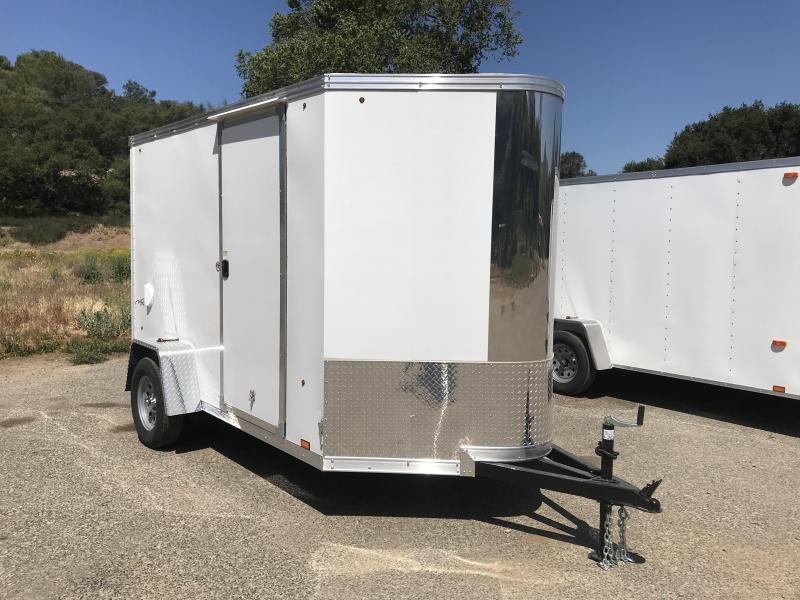 2019 Look Trailers Vision Vnose 6' x 10' Cargo  Enclosed Trailer