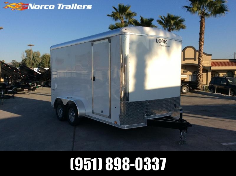 2019 Look Trailers VRLC 7' x 14' Tandem Axle Enclosed Cargo Trailer