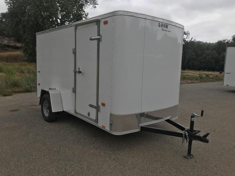2019 Look Trailers STLC 6' x 12' Enclosed Cargo Trailer