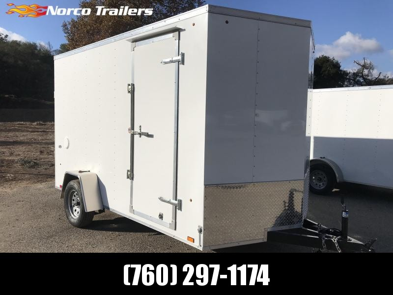 2019 Look Trailers STVLC Vnose 7' x 12' Enclosed Cargo Trailer