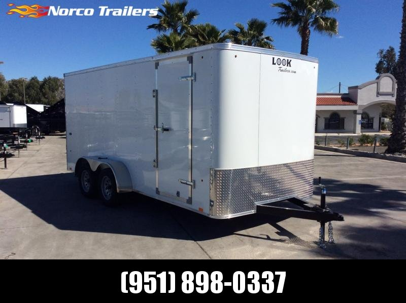 2019 Look Trailers STLC 7' x 16' Tandem Axle Enclosed Cargo Trailer