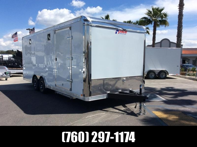 2019 Pace American Shadow GT 8.5' x 22' Tandem Axle Car / Racing Trailer