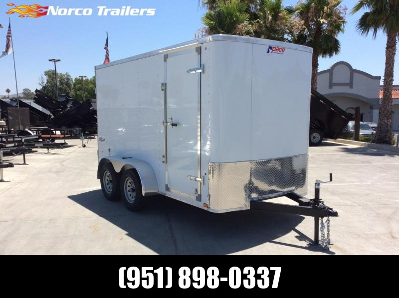 2020 Pace American Outback 6 x 12 Tandem Axle Enclosed Cargo Trailer