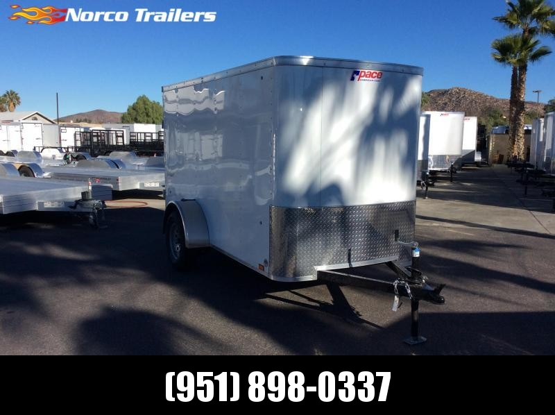 2019 Pace American Outback 5' x 10' Single Axle Enclosed Cargo Trailer