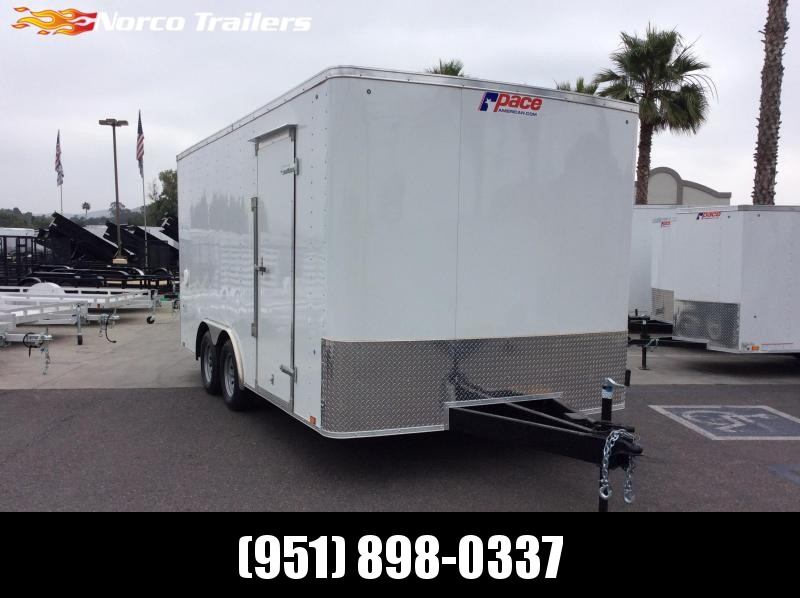 2019 Pace American Outback 8.5 x 16 Tandem Axle Car / Racing Trailer in Ashburn, VA