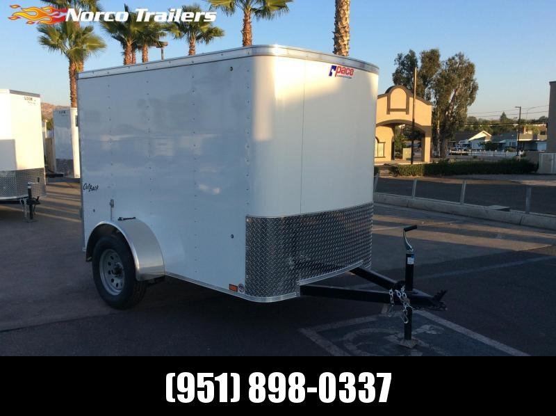 2019 Pace American Outback 5 x 8' Single Axle Enclosed Cargo Trailer