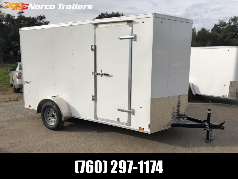 2019 Pace American Outback Vnose 6' x 12' Enclosed Cargo Trailer