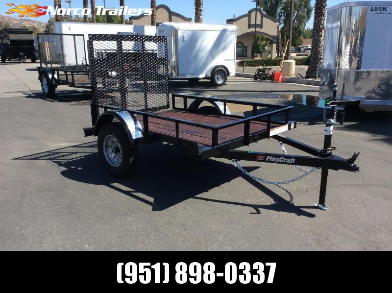 2019 Playcraft 4 X 6' Big Mini Utility Trailer