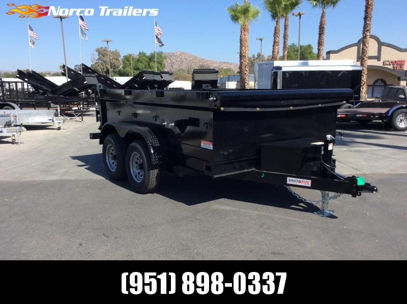 "2019 Innovative Trailer Mfg. 83"" x 10' 10K Dump Trailer"