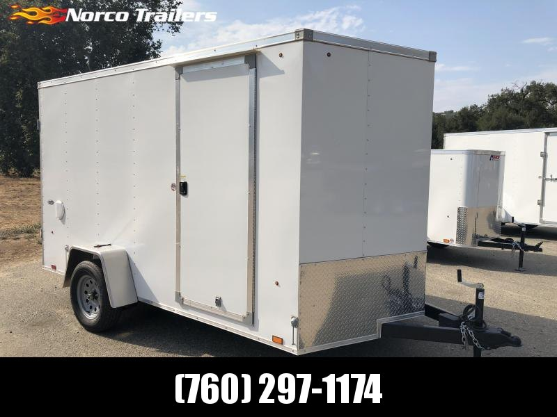 2019 Look Trailers STLC Vnose 7' x 12' Enclosed Cargo Trailer